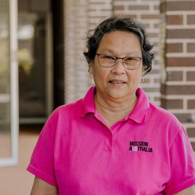 Meet Editha, a case worker from Fairfax House