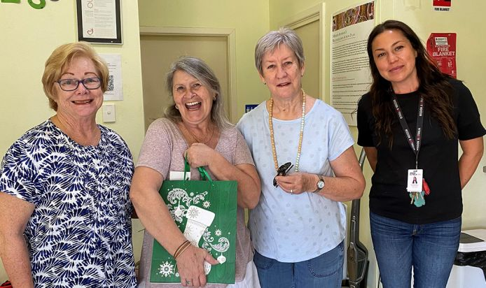 Robyn and friends giving back to Mission Australia
