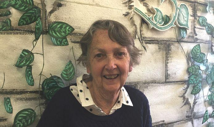 Creative writing teacher Anne Hudson