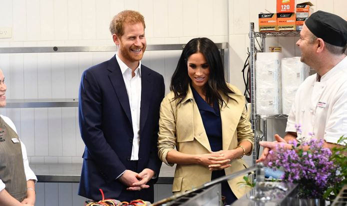 Mission Australia's Charcoal Lane restaurant plates up native cuisine for The Duke and Duchess of Sussex
