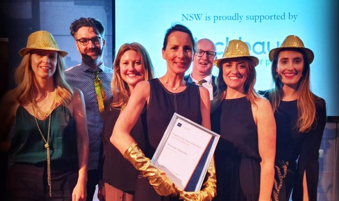 Mission Australia awarded 'NSW Fundraising Team of the Year'