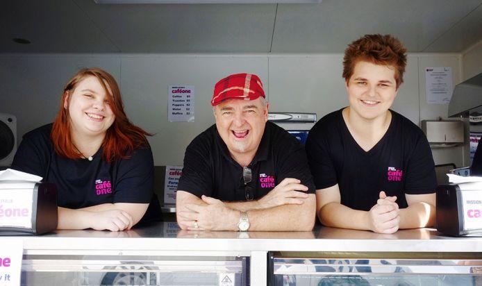 Café One celebrates new partnership with Intrepid