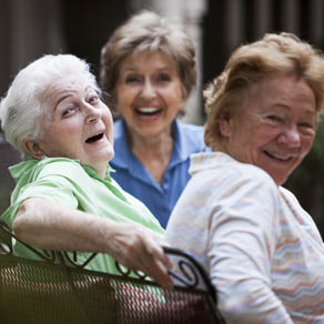Residents of our aged care