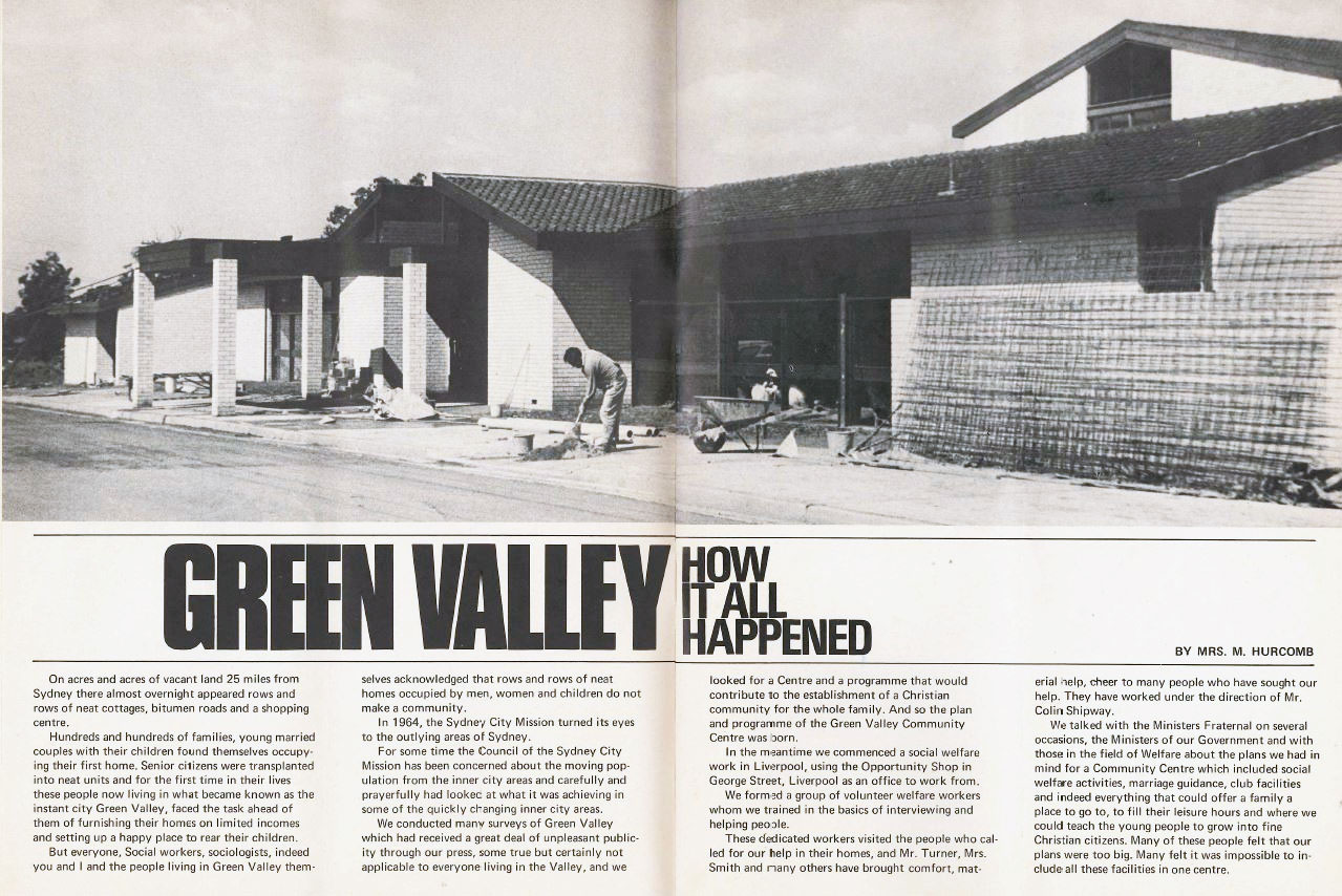 Green Valley history