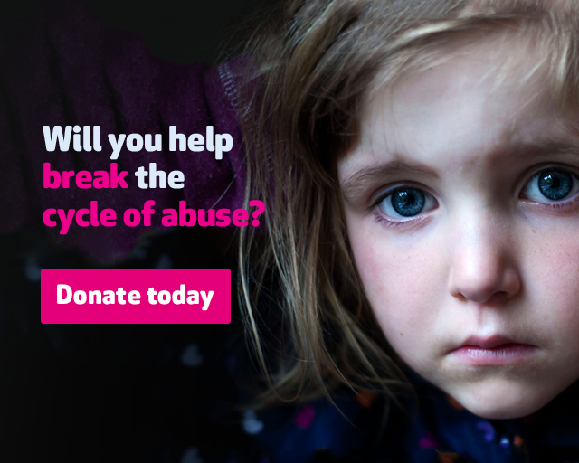 Will you help break the cycle of abuse?