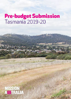 Pre budget submission Tasmania