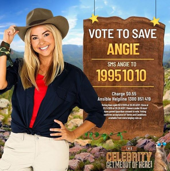 Save Angie Vote