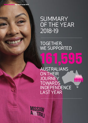 Annual Report 2019 – snapshot infographic