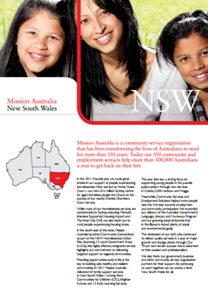Cover image of State Report 2011 - NSW