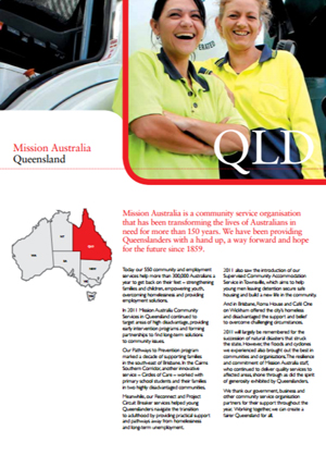 Cover image of State Report 2011 - QLD