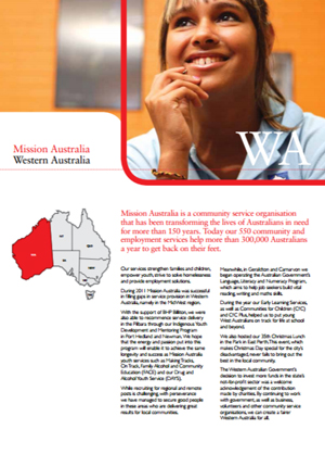 Cover image of State Report 2011 - WA