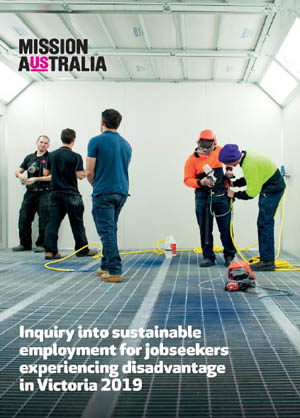 Inquiry into sustainable employment for jobseekers experiencing disadvantage in Victoria