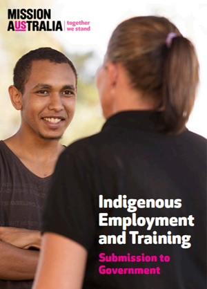 Screenshot of Government Review of Indigenous Training and Employment document