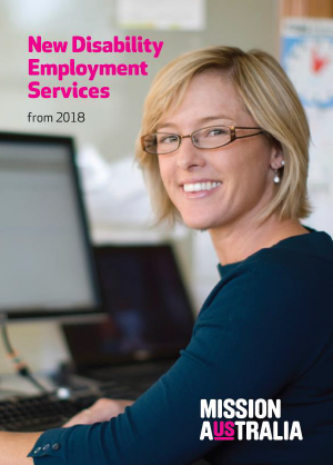 Cover of Disability Employment Services submission