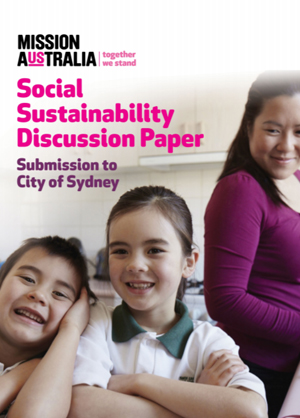 Screenshot of City of Sydney Social Sustainability Submission document