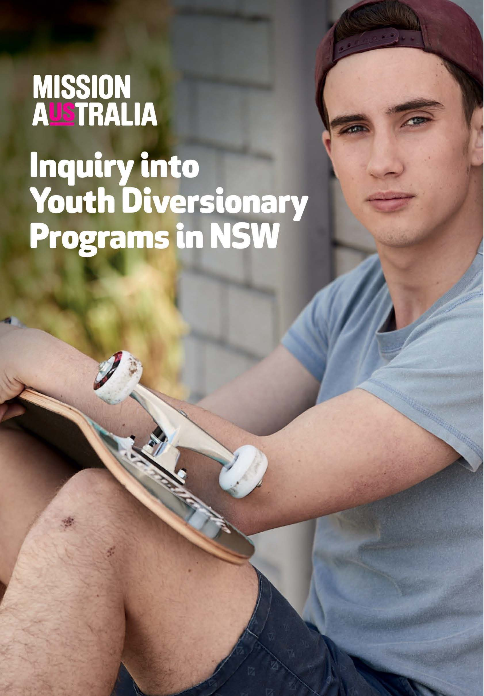 Inquiry into Adequacy of Youth Diversionary Programs in NSW Page 01