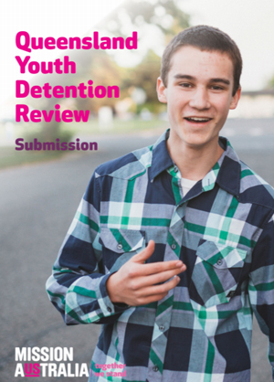 Screenshot of Queensland youth detention review submission document