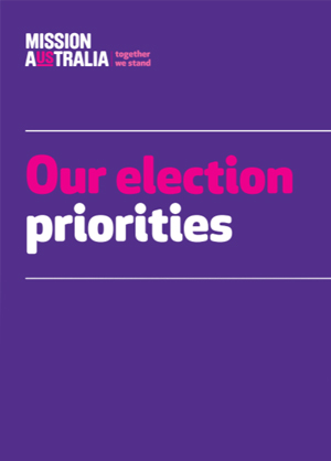 Cover image of Our election priorities 2016
