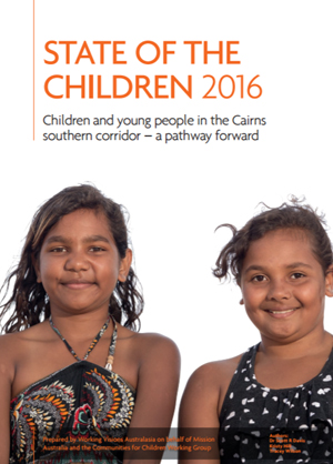 Cover image of Cairns young people report 2016