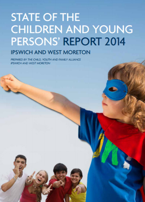 Screenshot of State of the Children and Young Persons Report 2014 document