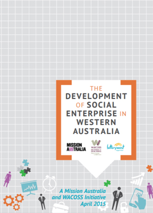 Screenshot of The development of Social Enterprise in Western Australia