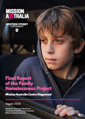 Final Report of the Family Homelessness Project: Mission Australia Centre Kingwood thumbnail
