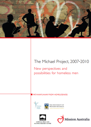 Screenshot of The Michael Project, 2007-2010: New perspectives and possibilities for homeless men - 2012