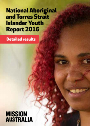 Screenshot of Aboriginal and Torres Strait Islander Youth Report Results document