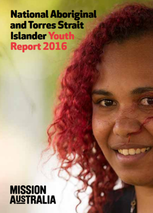Screenshot of Aboriginal and Torres Strait Islander Youth Report document