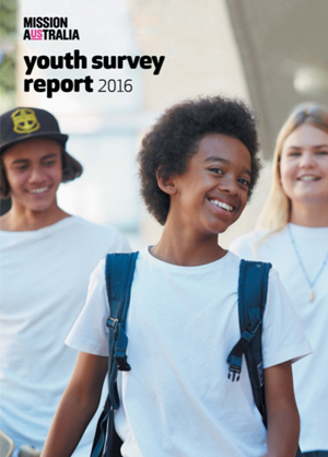 Screenshot of Mission Australia Youth Survey Report 2016