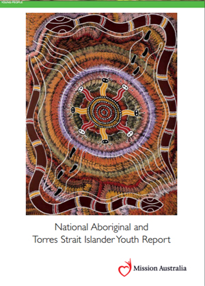 Screenshot of Mission Australia's National Aboriginal and Torres Strait Islander Youth Report