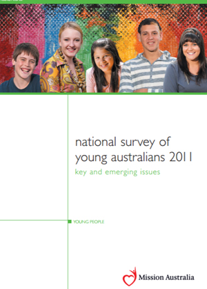 Screenshot of National Survey of Young Australians - 2011