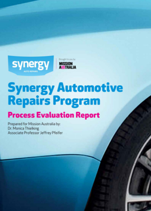 Screenshot of Synergy Automotive Repairs Program: Process Evaluation Report