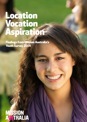 Screenshot of Youth Survey 2014 SES report