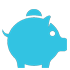 Piggybank icon for donation