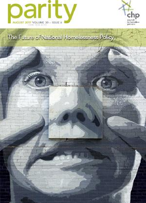 Parity magazine: The Future of National Homelessness Policy